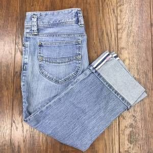 GAP Low Rise Cropped Jeans Sz 6R